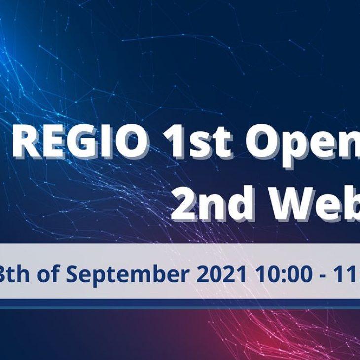 AI REGIO 1st Open Call 2nd Webinar