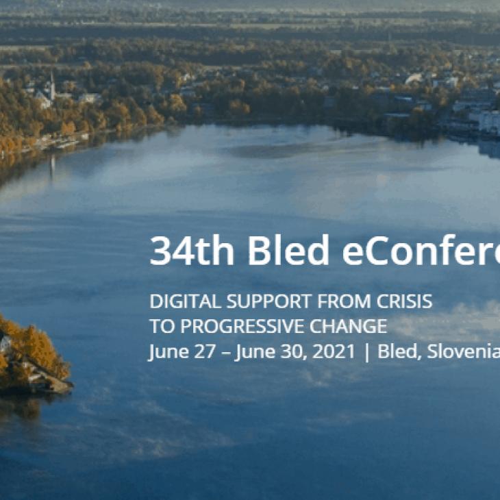 34. mednarodna e konferenca o digitalnem poslovanju: »Digital support from crisis to progressive change«