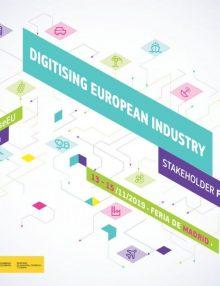 Predstavili smo se na letnem dogodku digitalnih inovacijskih stičišč: Digitising European Industry  Stakeholder Forum 2019 v Madridu
